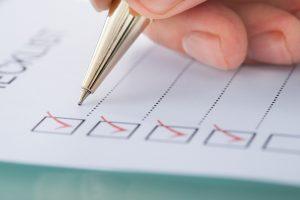 BTW Checklist